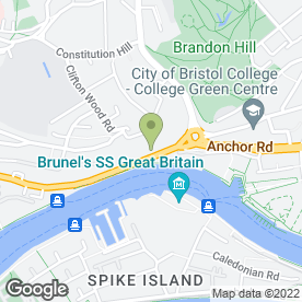 Map of One Knight Bar Hire in Bristol, avon