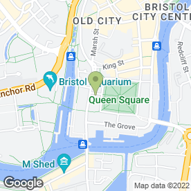 Map of Knight Frank Bristol Commercial in Bristol, avon