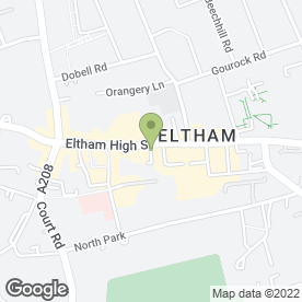 Map of Pizza Hut (UK) Ltd in Eltham, London, london