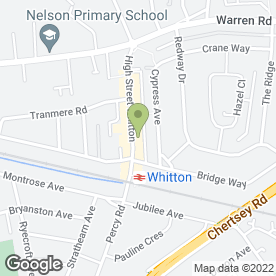 Map of Whitton Car Audio in Whitton, Twickenham, middlesex
