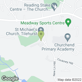 Map of Paul Morton Surveyors Ltd in Reading, berkshire