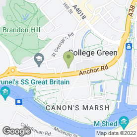 Map of Firehouse Rotisserie Bar & Grill in Bristol, avon