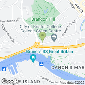 Map of Andrews Estate Agents in Bristol, avon