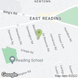 Map of Zilabee in Reading, berkshire