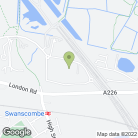 Map of Simpsons Ltd in SWANSCOMBE, kent