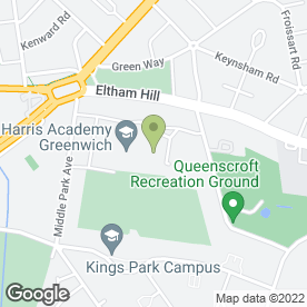 Map of Eltham Green School Nursery in London, london