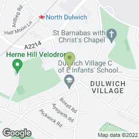 Map of Dulwich Audi in London, london