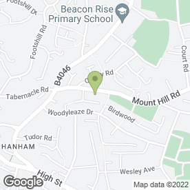 Map of About Security in Hanham, Bristol, avon