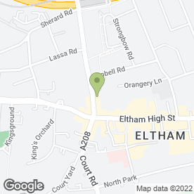 Map of Eltham Asphalte Co in London, london