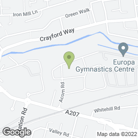 Map of Safestore Self Storage in Dartford, kent