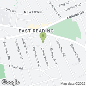 Map of HH Landscape Gardeners in Reading, berkshire