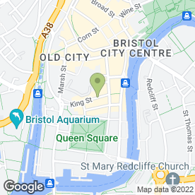 Map of Raj Restaurant in Bristol, avon