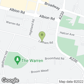 Map of Combined Security Ltd in Bexleyheath, kent