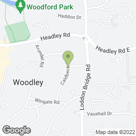 Map of The Fairy Cake Mother in Woodley, Reading, berkshire