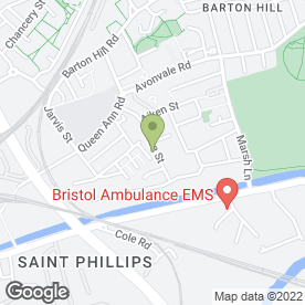 Map of Aspire Community Enterprise Ltd in Bristol, avon