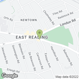 Map of The Funky Barnet in Reading, berkshire