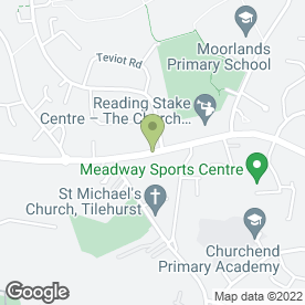 Map of Select School of Motoring in Tilehurst, Reading, berkshire