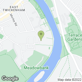 Map of Noble Curtains in Twickenham, middlesex