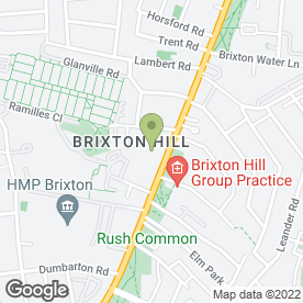 Map of Brixton Bible Institute in London, london