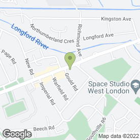 Map of Sapphire Airport Transfer in Feltham, middlesex