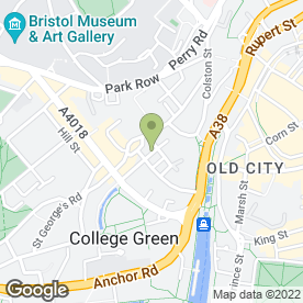 Map of 4W Web Design Ltd in Bristol, avon