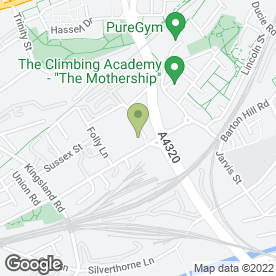 Map of Formula One Autocentres in Bristol, avon