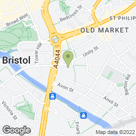 Map of Wired Media Ltd in Bristol, avon