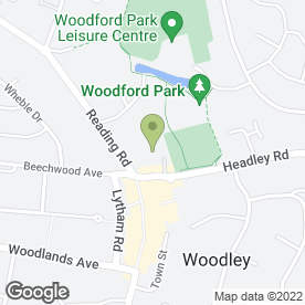 Map of Right At Home Reading in Woodley, Reading, berkshire
