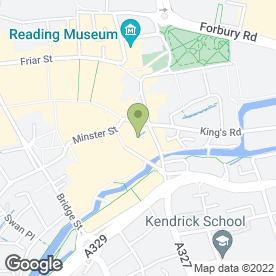 Map of Mix Coctail Bar in Reading, berkshire