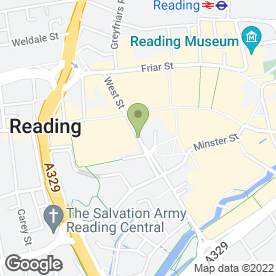 Map of 7 To 7 Home Bakery & Cafe in Reading, berkshire