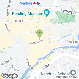 Map of QA Storage Systems in Reading, berkshire