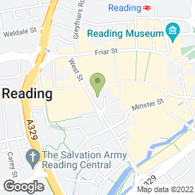 Map of La Tasca in Reading, berkshire