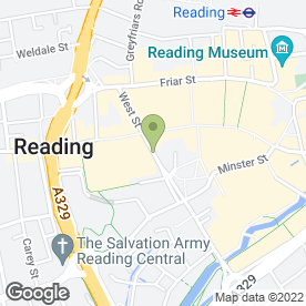 Map of Glo in READING, berkshire