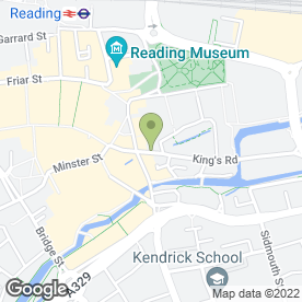 Map of Bagel Shaq in Reading, berkshire