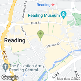 Map of Eurospeak Language Schools Ltd in Reading, berkshire