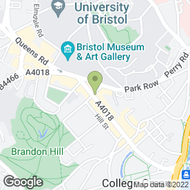 Map of Gourmet Burger Kitchen in Bristol, avon