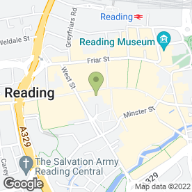 Map of Robert Dyas Ltd in Reading, berkshire