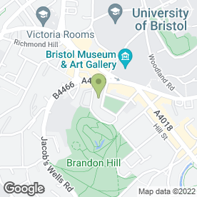 Map of THE SQUARE CLUB in Bristol, avon