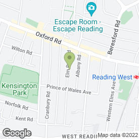 Map of Kingsmen Limited in Reading, berkshire