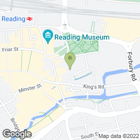 Map of Vizioz Ltd in Reading, berkshire