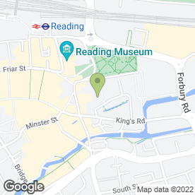 Map of Strutt & Parker LLP in Reading, berkshire