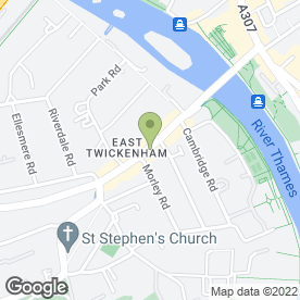 Map of Totally U Beauty in Twickenham, middlesex