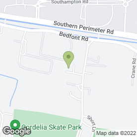 Map of Heathrow Buildbase in , middlesex