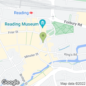 Map of Chilvers Page in Reading, berkshire