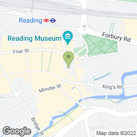 Map of Atlantis Property Services in Reading, berkshire