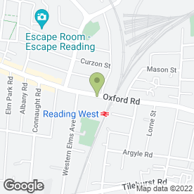 Map of Dreams plc in Reading, berkshire