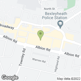 Map of Boots Opticians Ltd in Bexleyheath, kent