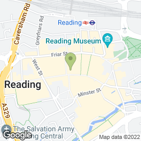 Map of Carphone Warehouse in Reading, berkshire