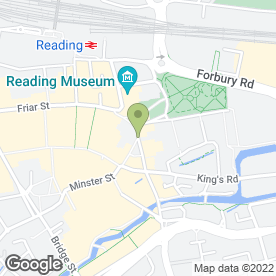 Map of Parkers Properties in Reading, berkshire