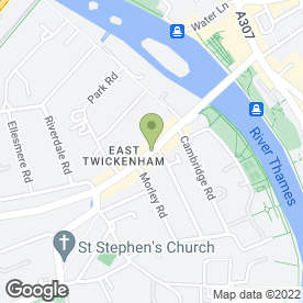 Map of Kelly Carpets in Twickenham, middlesex